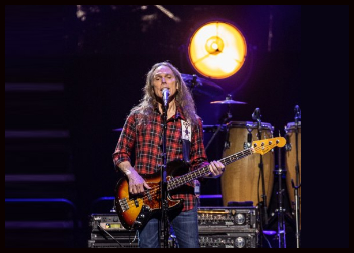Eagles Bassist Timothy B. Schmit Shares New Song 'Cross That Line'