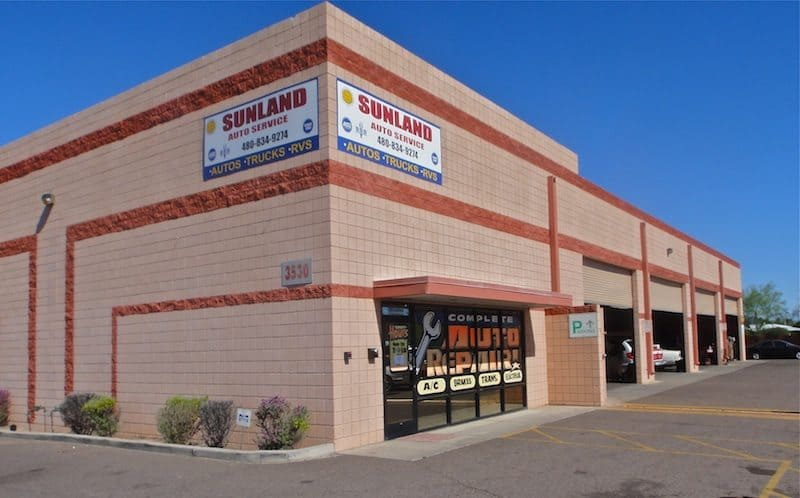 Our featured Business of the Month is Sunland Auto Service in Mesa